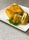 冷凍豆腐で!チーズ大葉カツ
