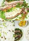 炙りハマチとキュウリちらし寿司 1392