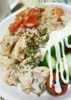 炊飯器トマトカオマンガイ