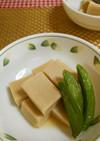 ★簡単!レンジで美味しい高野豆腐の煮物♪