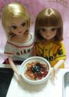 リカちゃんサイズ♡野球シリꕤ鮪の漬け丼*