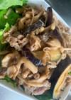 茄子と豚肉の味噌炒め☆