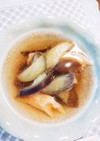 鮭と茄子の美肌☆和風スープ