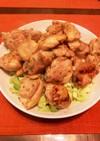 【簡単】鶏肉の麺つゆマヨ