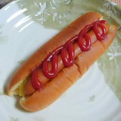 関西風ホットドッグ