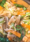 鮭缶でチャンチヤン煮