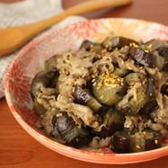 とろとろ~牛肉と茄子の味噌炒め煮
