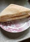 パンの耳のたまごサンドイッチ