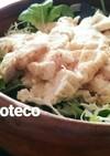 鶏チャーシューのシンプルサラダ