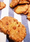 かぼちゃのオートミールクッキー