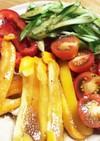 【野菜】ささみとシャキシャキ野菜のサラダ
