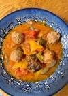 肉だんごと野菜のトマト煮
