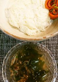 しじみ汁DE素麺