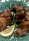 塩麹鶏ムネ&モモの2種から揚げ