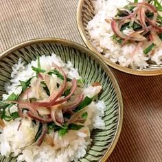 梅干しの炊き込みご飯☆