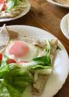 蕎麦粉のガレット【蕎麦の実消費レシピ】