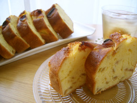 梅講師直伝⑭ しっとり濃厚❤梅酒のケーキ