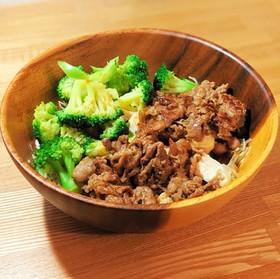 ヘルシーライザップ牛サラダ風