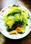 ふんわり玉子と小松菜のじゃこ炒め