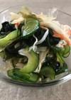 1:1:1で簡単 きゅうりと海藻の酢の物