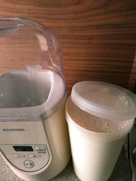 ヨーグルトメーカーで簡単豆乳ヨーグルト