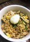 もち麦とおからパウダーのパラパラ炒飯