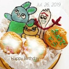 トイストーリー4  誕生日ケーキ