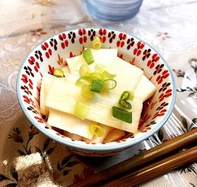 【5分】簡単!長芋の甘酢和え【副菜】