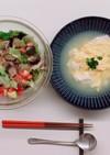 とうふとたまごのスープ