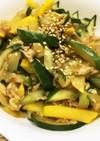 きゅうり大量消費、胡瓜の炒め煮ノンオイル