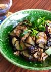 豚肉と茄子の塩昆布炒め♧夏のお惣菜