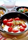 脂肪燃焼スープで鱈のアクアパッツァ風