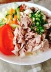 豚しゃぶ素麺…ごまダレ