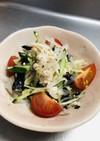 ササミと大根のカラフルサラダ