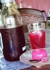 梅干の赤紫蘇入り紫蘇ジュース