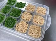 離乳食中期*フリージング*水煮大豆の写真