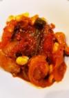 鶏もも肉とたっぷり野菜のトマト煮込