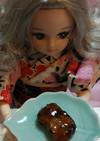 リカちゃんサイズ♡鰻のタレで鱧の蒲焼き*