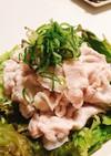 豚しゃぶサラダ〜お肉を柔らかくするコツ〜