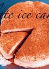 材料3つでチョコレートアイスケーキ