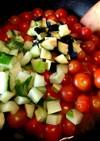 トマトなど夏野菜消費!無水トマトカレー