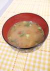 ナスと豆腐の味噌汁
