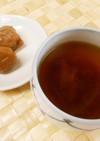 夏ばて予防に~梅しょうゆ茶♪めっけ