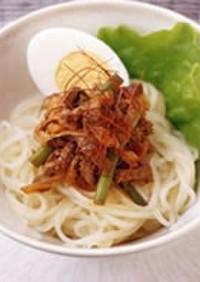 スタミナ冷麺