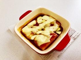 切り餅でピリ辛味噌トッポギ風