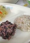 【学校給食】肉団子のもち米蒸し