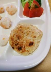 離乳食・幼児食✨豆腐とツナのハンバーグ✨