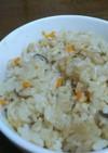 ホタテ貝柱の炊き込みご飯