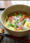 トマト・卵の生姜入り☆夏☆コンソメスープ