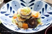 タラとナスのはさみ揚げ⁂生姜あんかけの写真